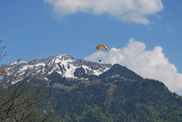 Paragliding, Interlaken Switzerland
