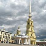 2015俄羅斯初夏之旅--彼得與保羅城堡、聖埃薩大教堂、隱仕盧博物館、獅身人面像、勝利柱