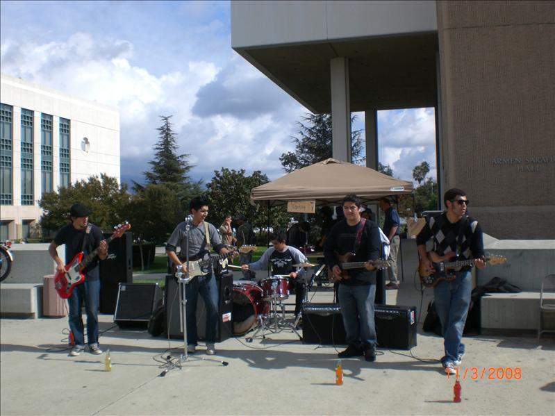 校园里的乐队