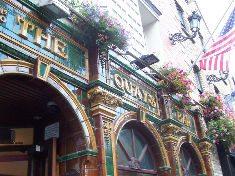I want to take you to the Quay Bar.