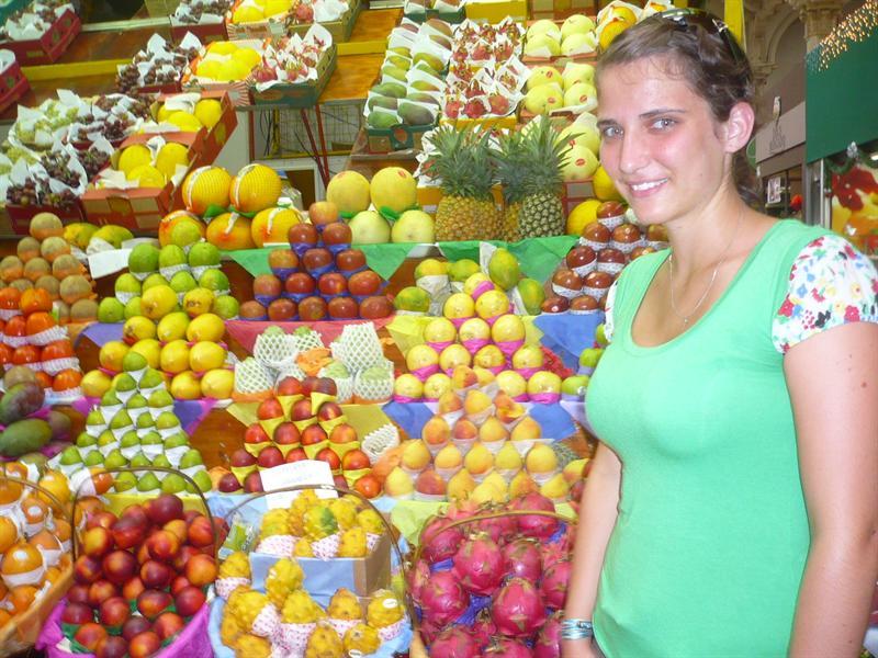in SP - mercado municipao