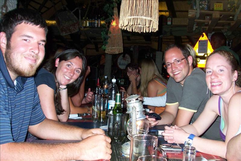 In Joe's Bar (Windhoek, capitale de Namibie)