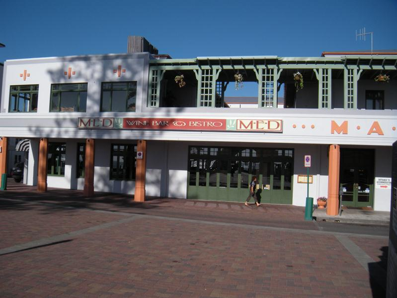 One of the new Napier art deco buildings after the earthquake