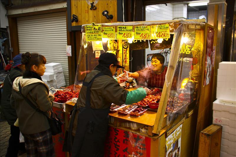 Uontana, a market street in Akashi