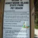 Honeymoon Beach State Park Pet Beach