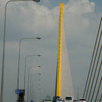 Bridge across Chao Phraya River - Bangkok