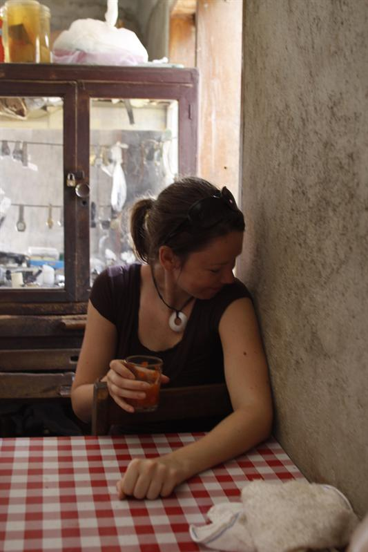 Drinking Tuba(coconut wine) - Siquijor