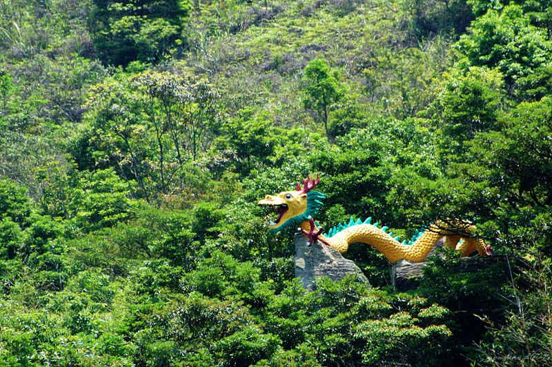 flying dragon sculpture 飛龍雕塑