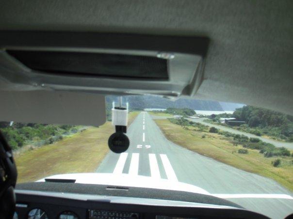 ...the landing!
