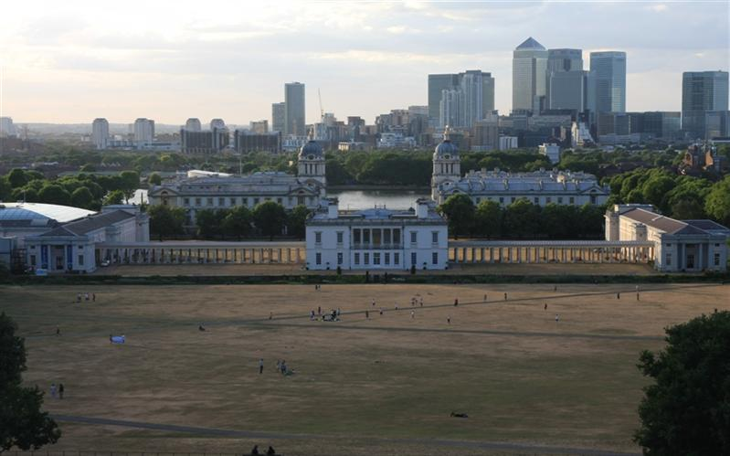 Royal Naval College & Canary Wharf, London, United Kingdom, London, United Kingdom
