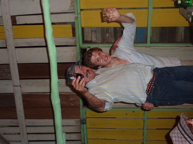 crazy drunk hostel owner