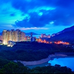 20110605 香港仔水塘暮色 Aberdeen Reservoir at Nightfall