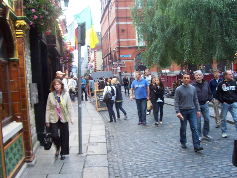 Temple Bar area.