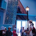 古巴館的加彩鐵皮