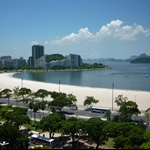 Botafogo Beach - near my first hostel