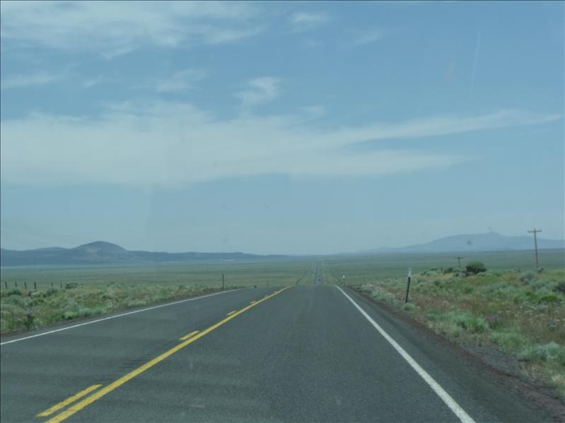 Miles of nothingness