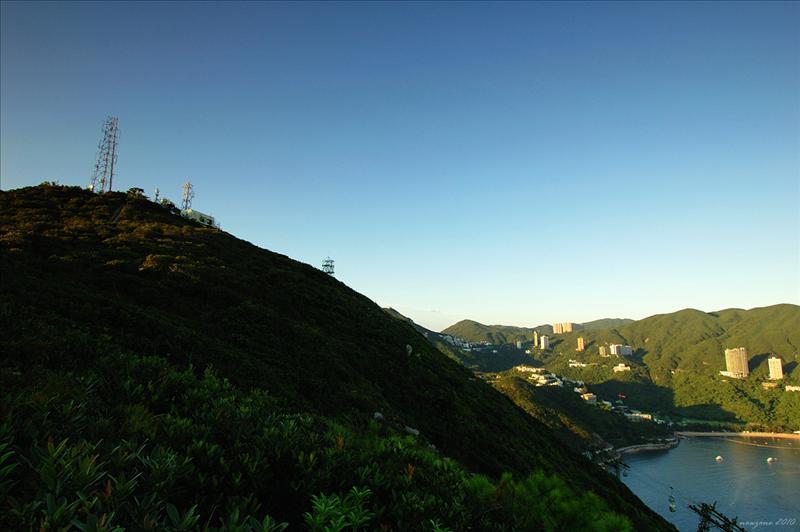 直升機坪望南朗山山頂
