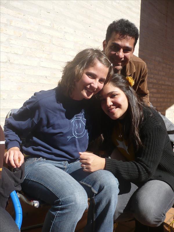 mit Isabella und Anibal