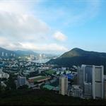 遠眺海洋公園、壽臣山及深水灣一帶的景色