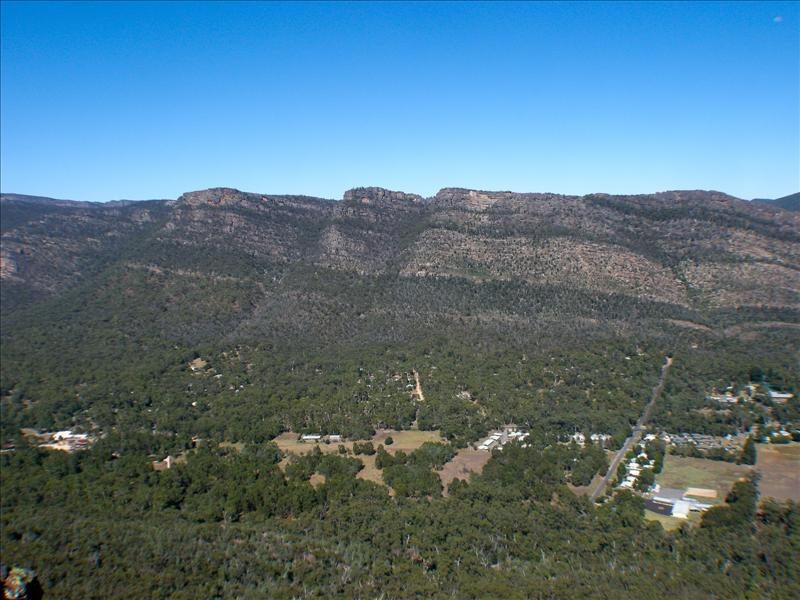 First sight of the Grampians