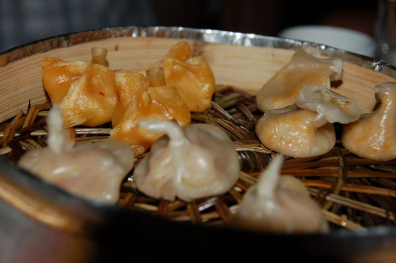 "about 15 kinds of various types of dumplings to be served in "" Royal dumpling dinners"""
