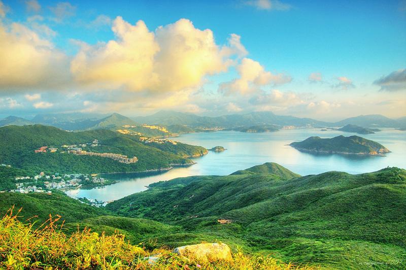 北望西貢海的海灣風光