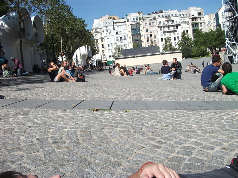 Plaza of Pompidou