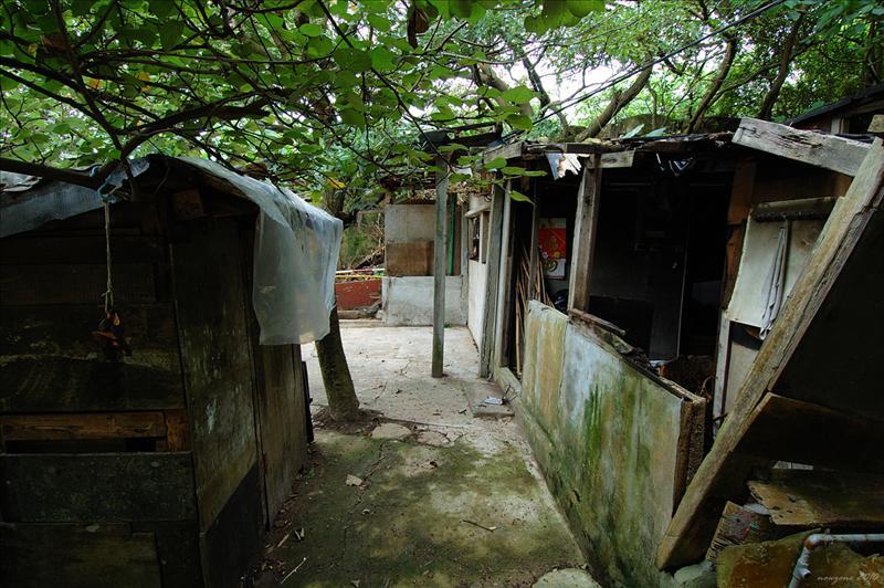 草灣村的破舊村屋