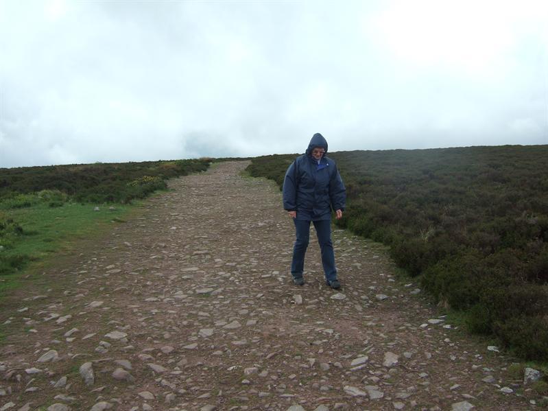 Walking to Dunkery Beacon
