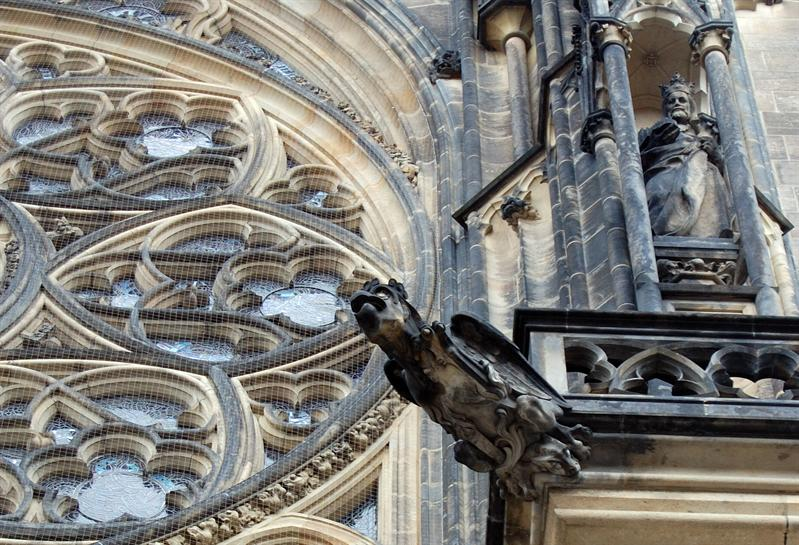 Gargoyle: Detail Prague Cathedral