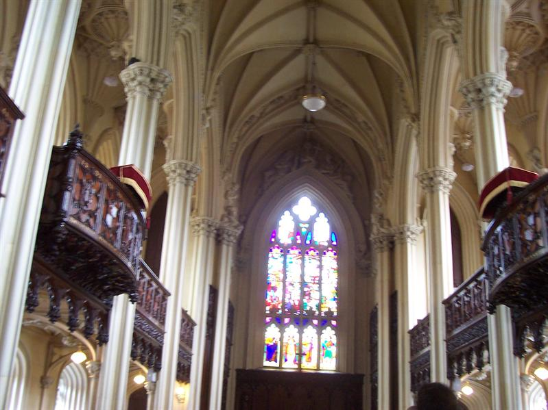 Cathedral in Dublin Castle.