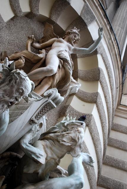Sculpture at the Hofburg