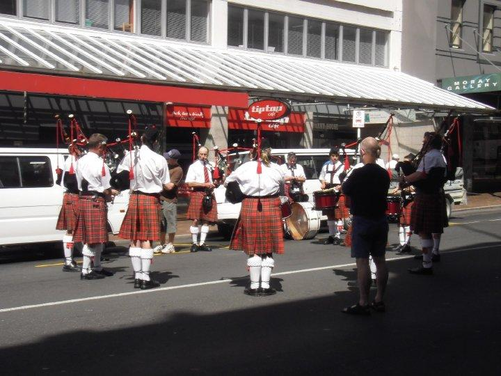 National bagpipe competition - not great for hangovers!!!