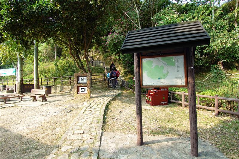 起步 Start at Wong Shek BBQ Area