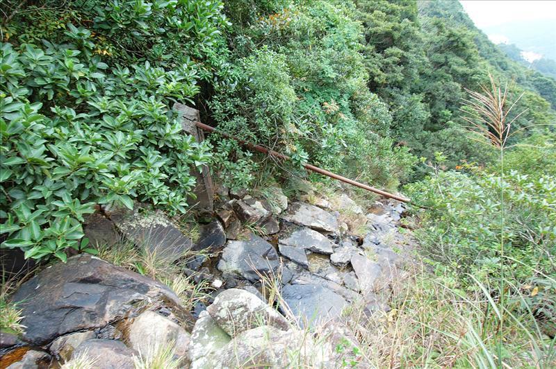越過金鴨石澗上源 Acoss the stream