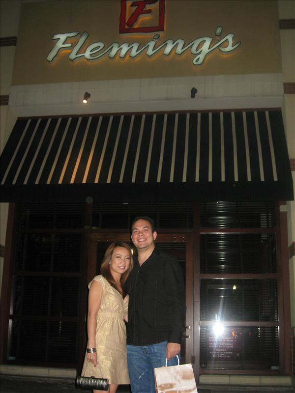After dinner at Flemings