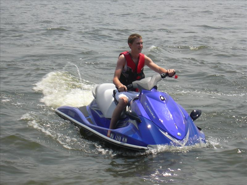 a waverunner ride can be rented
