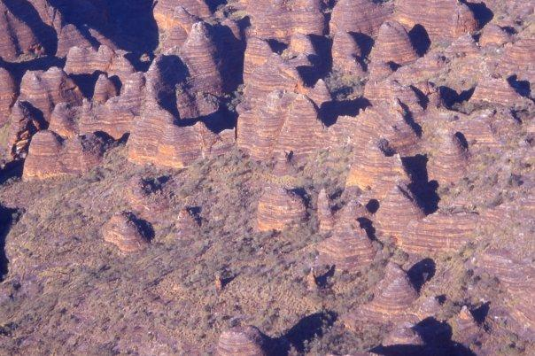 BUNGLE BUNGLES, THE KIMBERLEY, WA - AERIAL VIEW