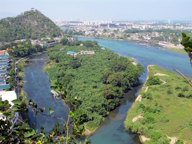 """Fubo Hill"" ( 伏 波 山 ) area"