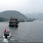 """Li River"" or ""Lijiang River"" ((漓 江 ) cruising"