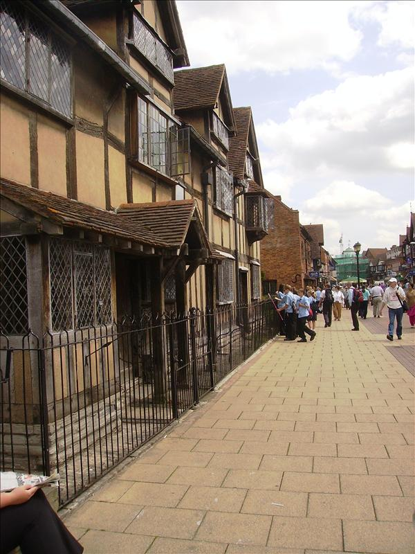 Front of Shakespeare's house