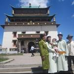 Gandan Khiid, Ulaanbaatar, Mongolia, 17.7.2010