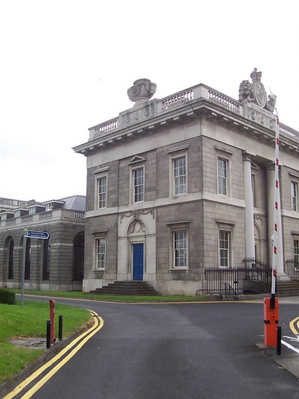 Dublin Custom House.