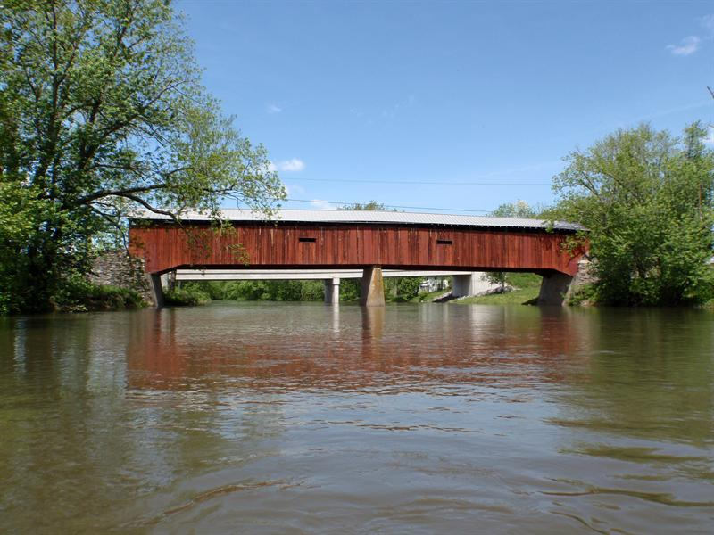 Dellville Covered Bridge May