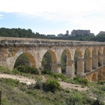 Visited this almost complete Roman aqueduct ....