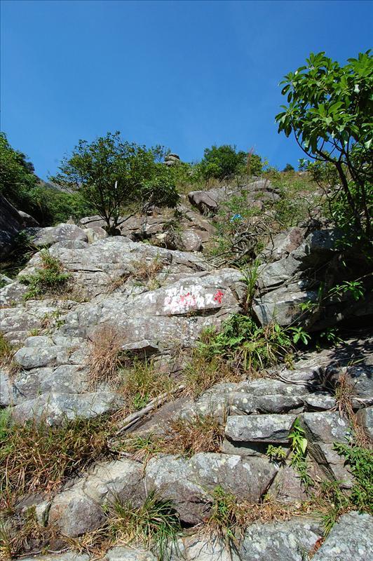 青龍石澗上段入口