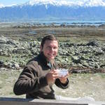 14. New Zealand - Kaikoura - breakfast with the seals!.JPG