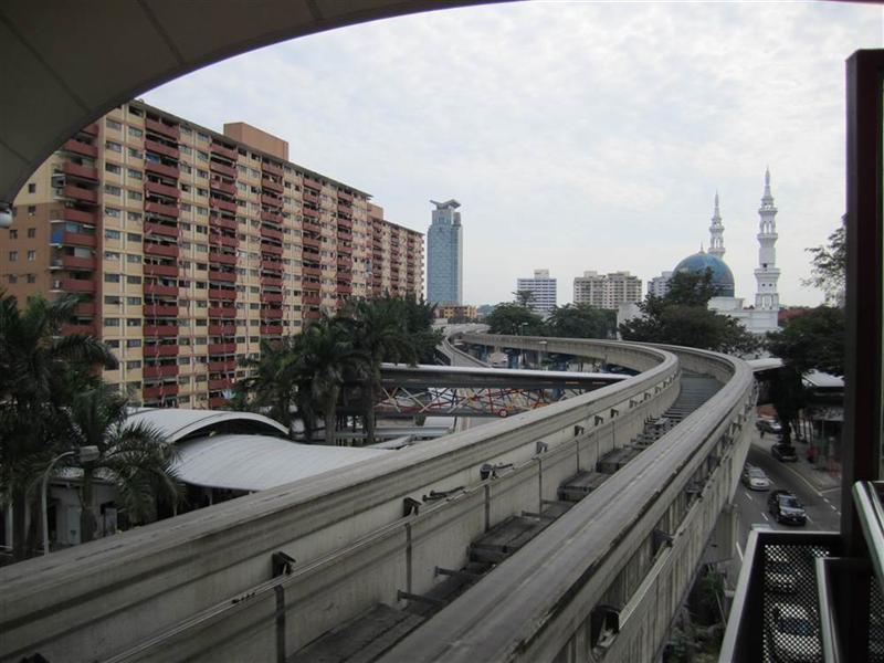 widok ze stacji pociągu miejkiego