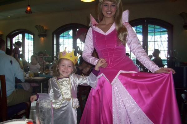 "bailee and princess Aurora aka ""Sleeping beauty"""