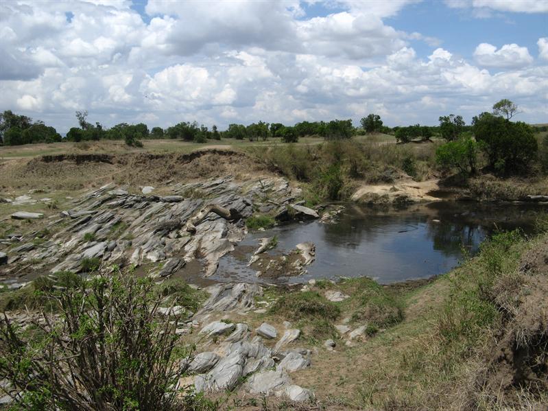Mara river (dry)